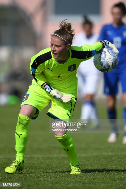Katja Schroffenegger of Italy Women in action during the friendly match between Italy Women and Italy U23 Women at Novarello Training Center on May...