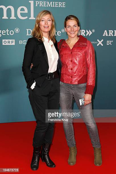 Katja Weitzenboeck and Tanja Wedhorn attend the 'Rommel' TV Film Premiere at the Delphi Filmpalast on October 24 2012 in Berlin Germany