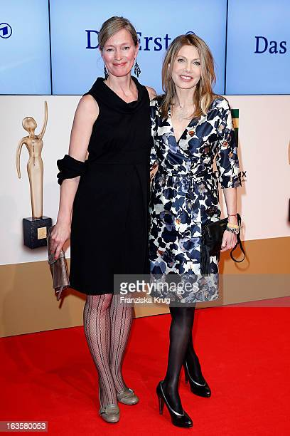 Katja Weitzenboeck and Ursula Karven attend 'Goldene Bild Der Frau' Award 2013 at the Axel Springer Haus on March 12 2013 in Berlin Germany