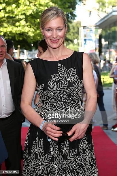 Katja Weitzenboeck attends the Bavaria Film reception during the Munich Film Festival at Kuenstlerhaus am Lenbachplatz on June 30 2015 in Munich...