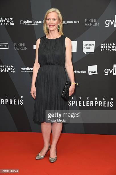 Katja Weitzenboeck attends the Deutscher Schauspielerpreis 2016 on May 20 2016 in Berlin Germany