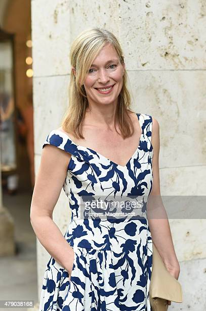 Katja Weitzenboeck attends the ZDF reception during the Munich Film Festival at Hugo's on June 30 2015 in Munich Germany