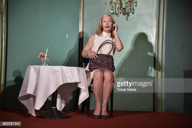 Katja Weitzenboeck during the Photo Call to 'Die Frau Des MichelAngelo' on June 23 2017 in Berlin Germany