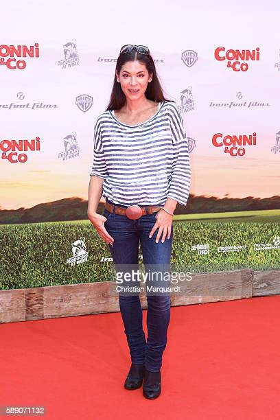 Katja Woywood attends ConniCo World Premiere at Cinestar Potsdamer Platz on August 13 2016 in Berlin Germany