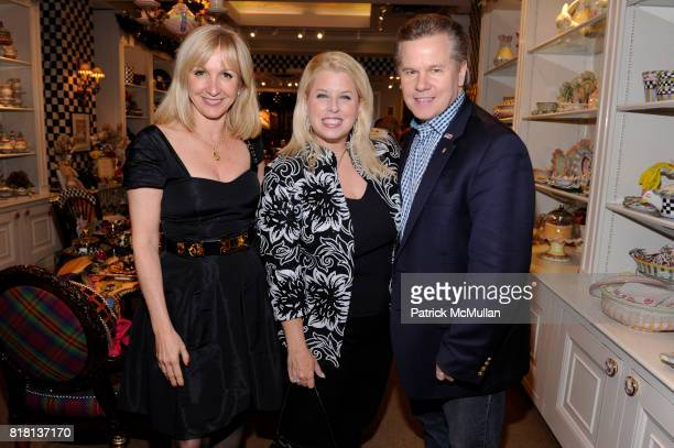 Katlean De Monchy Rita Cosby and Tomaczek Cosby attend SOUTHAMPTON HOSPITAL Celebrates the Holidays with CHAIR JEAN SHAFIROFF at Mackenzie Childs on...