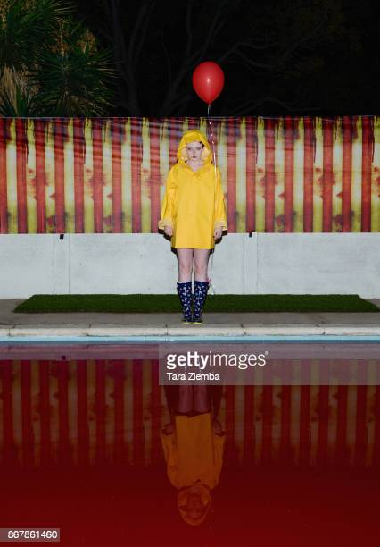 Katlin Valleroy attends Mateo Simon's Halloween Charity Event on October 28 2017 in Burbank California