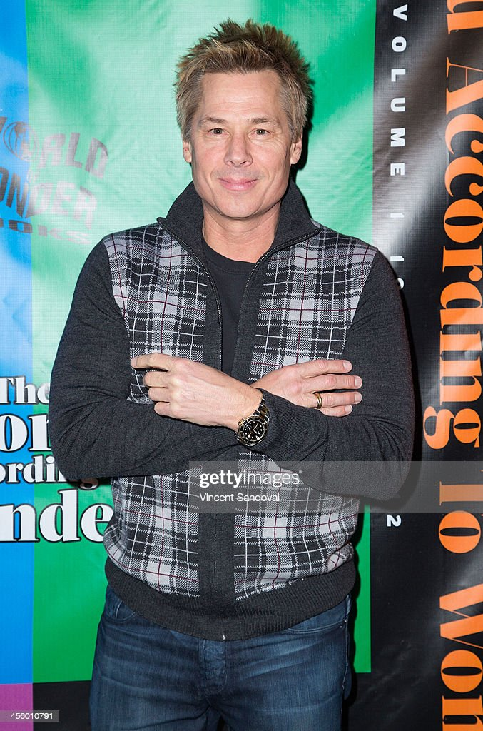 <a gi-track='captionPersonalityLinkClicked' href=/galleries/search?phrase=Kato+Kaelin&family=editorial&specificpeople=226519 ng-click='$event.stopPropagation()'>Kato Kaelin</a> attends the World of Wonder's 1st Annual WOWie Awards at The Globe Theatre on December 12, 2013 in Universal City, California.