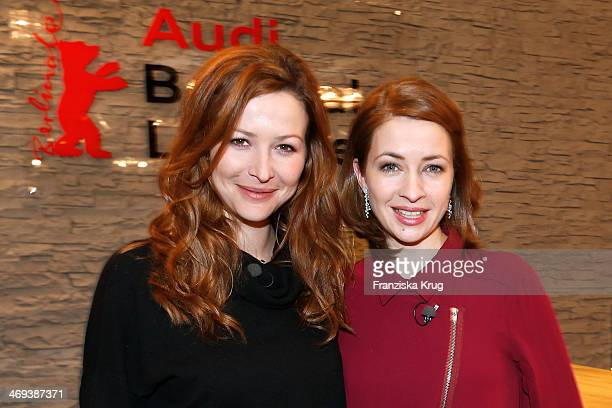 Katrin Bauerfeind and Laura Osswald attend the Audi Lounge Day 9 Audi At The 64th Berlinale International Film Festival at Berlinale Palast on...