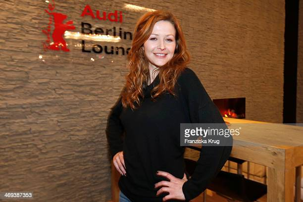 Katrin Bauerfeind attends the Audi Lounge Day 9 Audi At The 64th Berlinale International Film Festival at Berlinale Palast on February 14 2014 in...