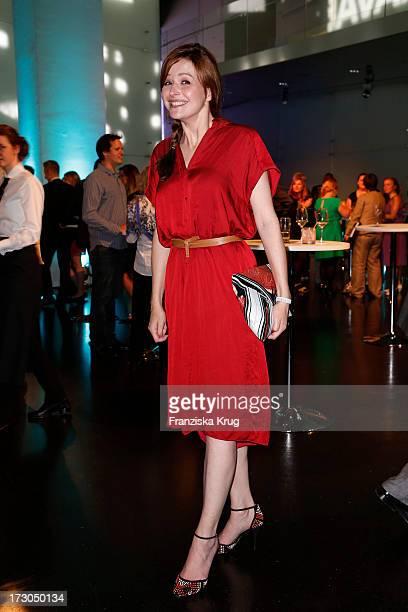 Katrin Bauerfeind attends the Munich Film Festival 2013 'Foerderpreis Neues Deutsches Kino' at BMW Museum on July 05 2013 in Munich Germany