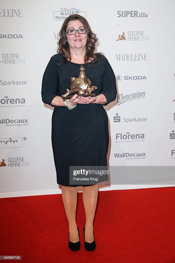 Katrin Behr attends Madeleine at Goldene Henne 2014 on October 10 2014 in Leipzig Germany