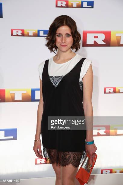 Katrin Hess attends the premiere of the film 'Gaby Koester Ein Schnupfen haette auch gereicht' at Residenz Kino on April 11 2017 in Cologne Germany