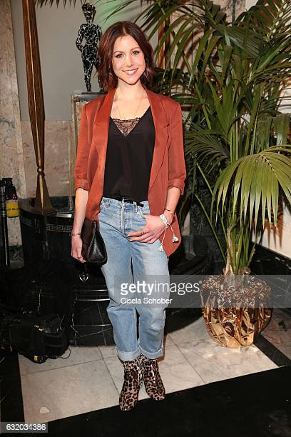 Katrin Hess during the GRAZIA Pop Up Breakfast during the MercedesBenz Fashion Week Berlin A/W 2017 at Kaffeehaus Grosz on January 18 2017 in Berlin...