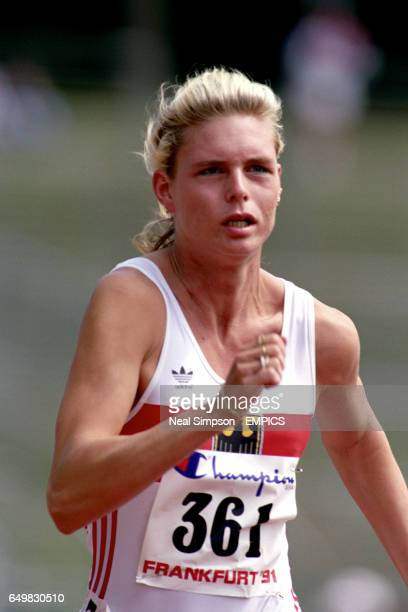 Katrin Krabbe Germany Womens 100m