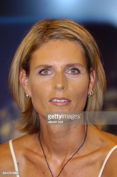 Katrin Krabbe Sportlerin Leichtathletin Sprinterin Unternehmerin D