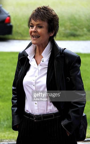 Katrin Sass attends the '40th International Emmy Awards Semi Final Hosting' reception at Villa Borsig on June 6 2012 in Berlin Germany
