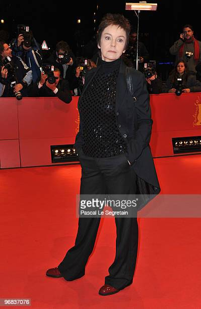 Katrin Sass attends the 'Jud Suess Film Ohne Gewissen' Premiere during day eight of the 60th Berlin International Film Festival at the Berlinale...