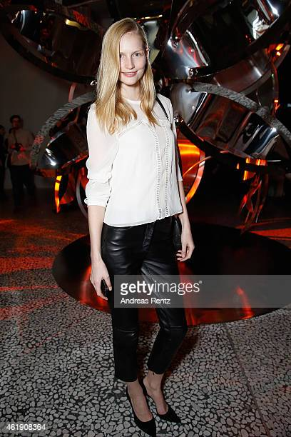 Katrin Thormann attends the Kaviar Gauche Show during the MercedesBenz Fashion Week Berlin Autumn/Winter 2015/16 at Palazoo Italia on January 21 2015...