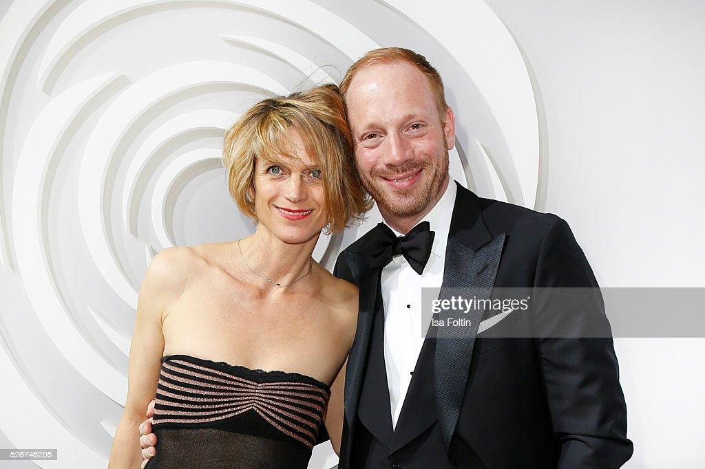 Katrin von Buehlow and Johann von Buehlow attend the Rosenball 2016 on April 30, 2016 in Berlin, Germany.