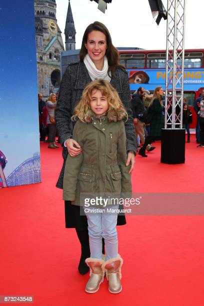 Katrin Wrobel and her daughter Louisa attend the 'Paddington 2' premiere at Zoo Palast on November 12 2017 in Berlin Germany