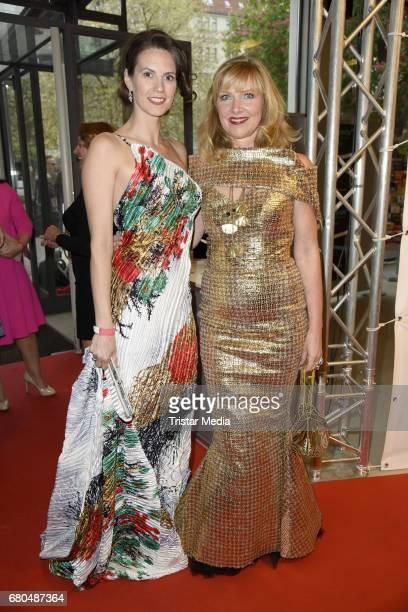 Katrin Wrobel and Nanna Kuckuck attend the Victress Awards Gala 2017 on May 8 2017 in Berlin Germany