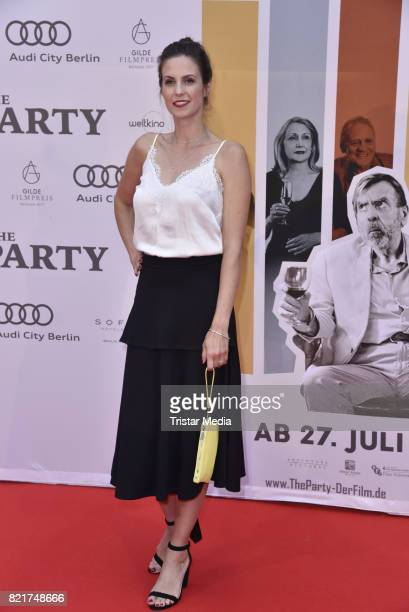 Katrin Wrobel attends sthe premiere of 'The Party' on July 24 2017 in Berlin Germany