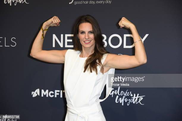 Katrin Wrobel attends the New Body Award By McFit Models on October 26 2017 in Berlin Germany