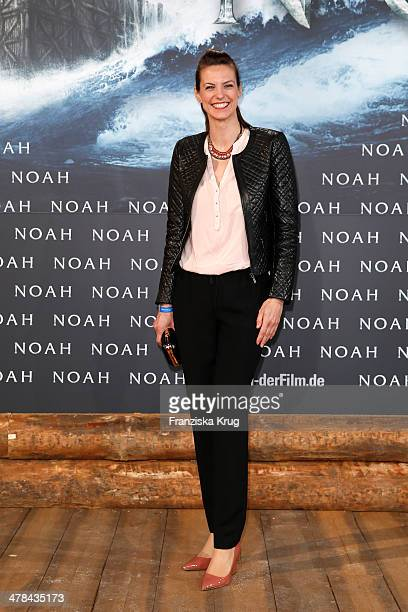 Katrin Wrobel attends the 'Noah' Germany Premiere at Zoo Palast on March 13 2014 in Berlin Germany