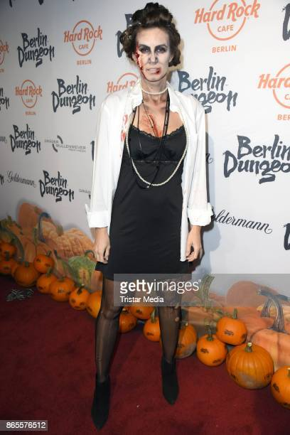 Katrin Wrobel during the Halloween party by Natascha Ochsenknecht at Berlin Dungeon on October 23 2017 in Berlin Germany