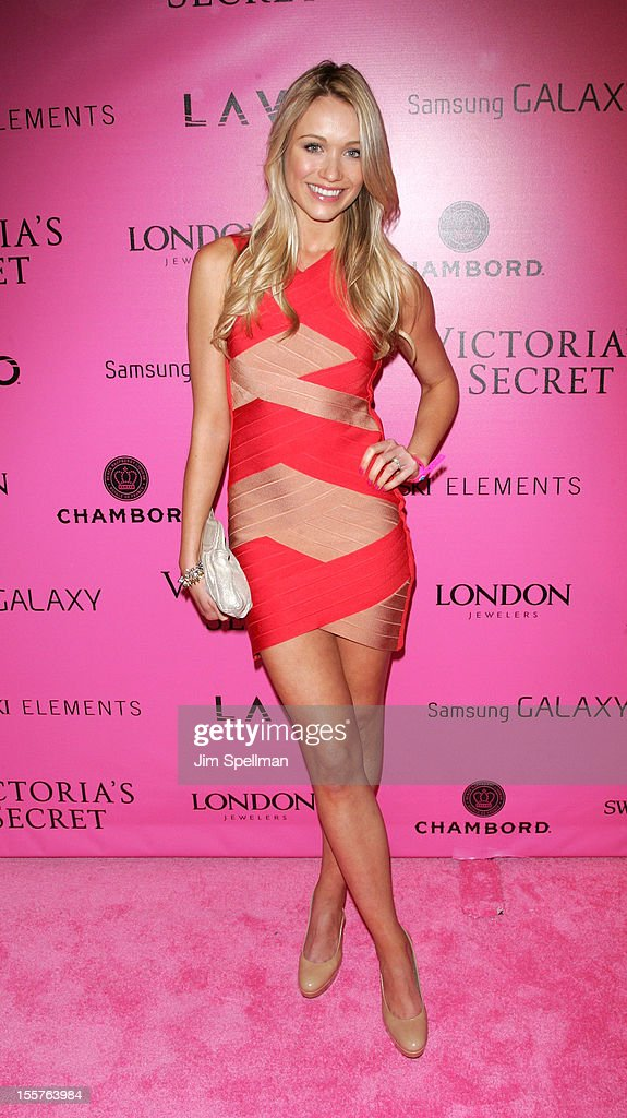 Katrina Bowden attends the after party for the 2012 Victoria's Secret Fashion Show at Lavo NYC on November 7, 2012 in New York City.
