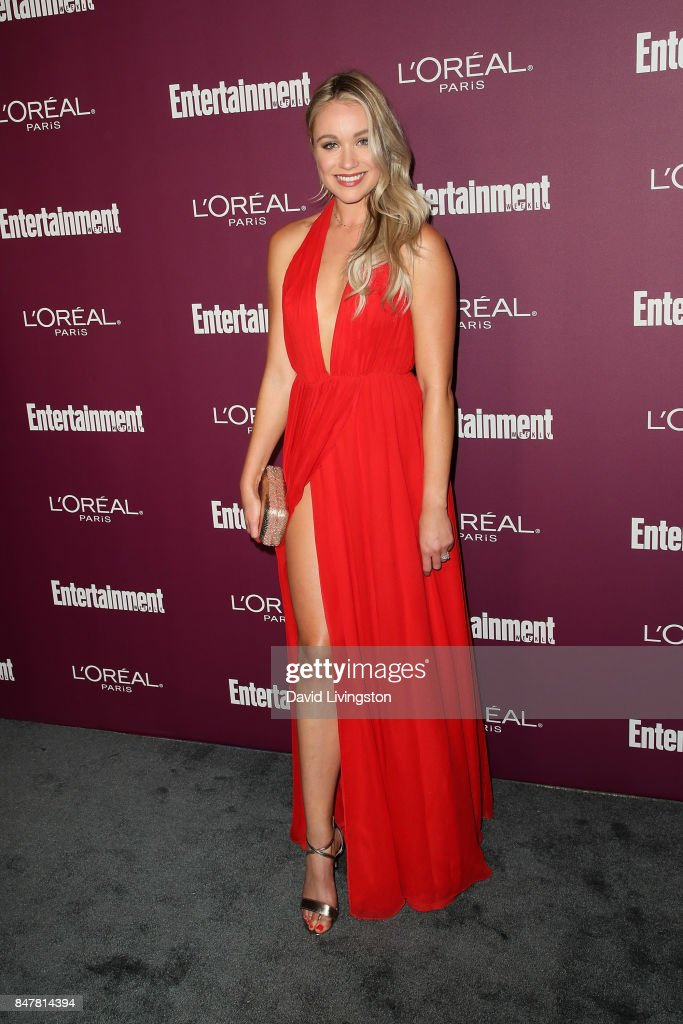 Katrina Bowden attends the Entertainment Weekly's 2017 Pre-Emmy Party at the Sunset Tower Hotel on September 15, 2017 in West Hollywood, California.