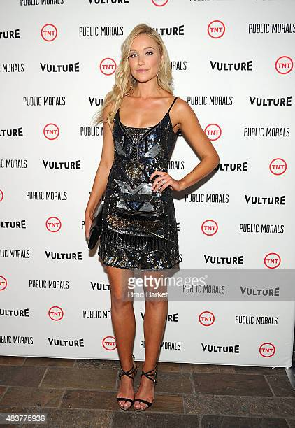 Katrina Bowden attends The NYMag Vulture TNT Celebrate the Premiere of 'Public Morals' on August 12 2015 in New York City