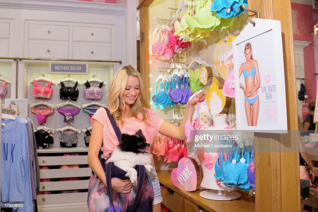 <a gi-track='captionPersonalityLinkClicked' href=/galleries/search?phrase=Katrina+Bowden&family=editorial&specificpeople=4272761 ng-click='$event.stopPropagation()'>Katrina Bowden</a> Celebrity sighting on July 10, 2013 in New York City.