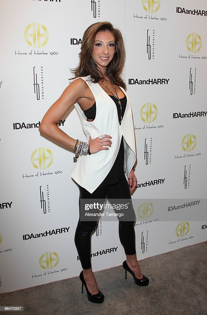 Katrina Campins attends the launch of House of Harlow 1960 Jewelry Collection at Ida and Harry at Fontainebleau Miami Beach on May 6, 2009 in Miami Beach, Florida.
