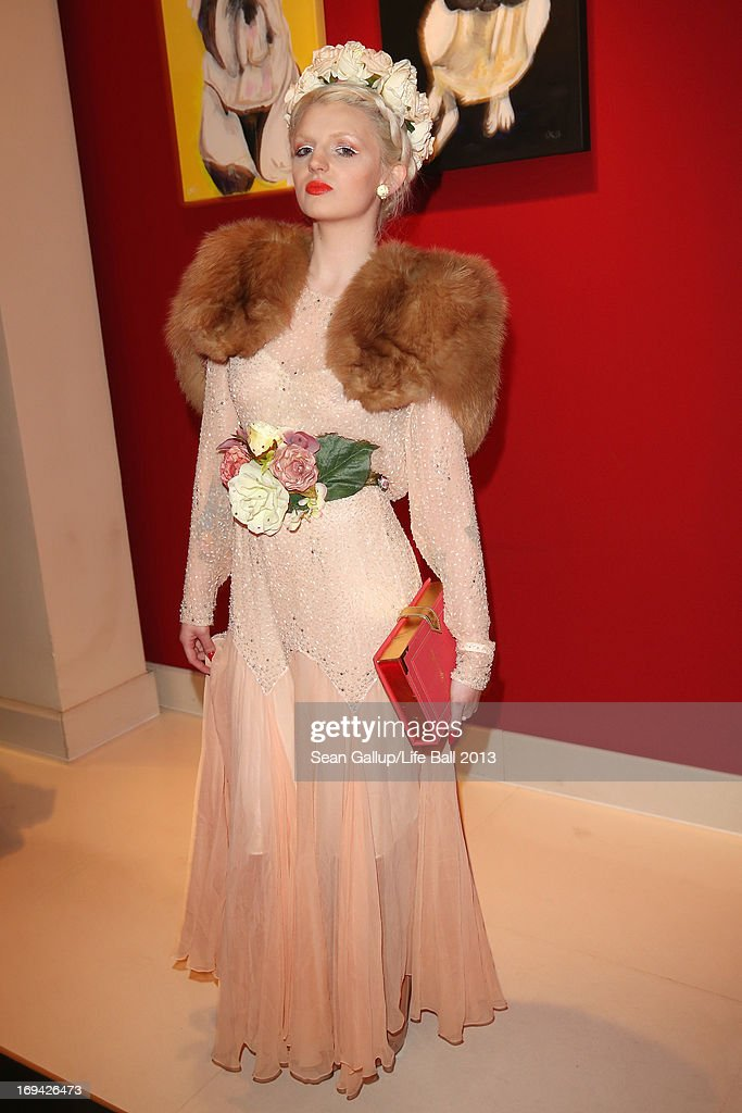 Katrina Darling attends the 'Life Ball 2013 - Welcome Cocktail' at Le Meridien Hotel on May 24, 2013 in Vienna, Austria.