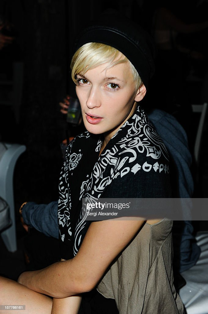 Katrina Hunter attends The Hole Gallery concert sponsored by Playboy and hosted by Delano at Delano Hotel on December 5, 2012 in Miami, Florida.