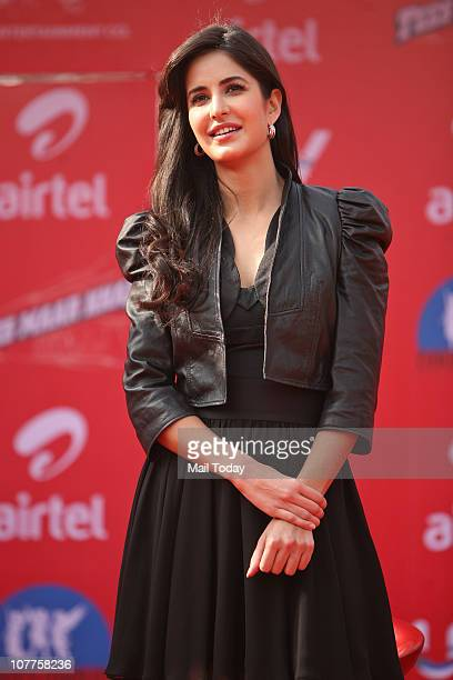 Katrina Kaif at a promotional event for her upcoming film Tees Maar Khan at Ansal Plaza on Wednesday