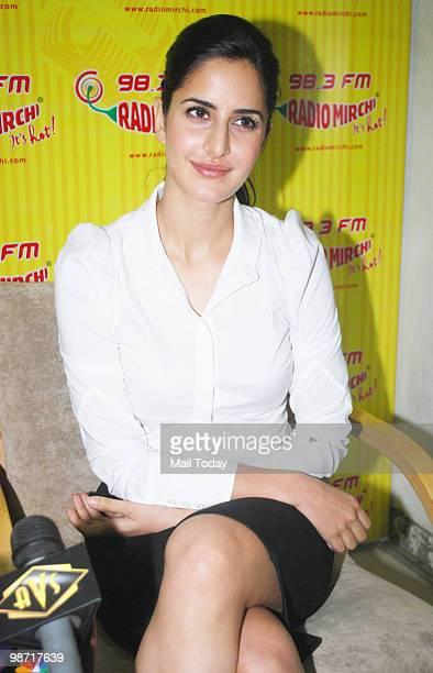 Katrina Kaif at a promotional event for Rajneeti in Mumbai on April 27 2010
