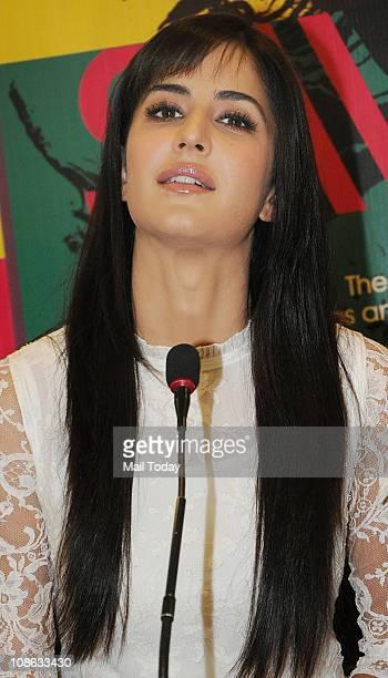Katrina Kaif at the launch of Pritish Nandy's book 'Tonight This Savage Rite' at Crossword Mumbai