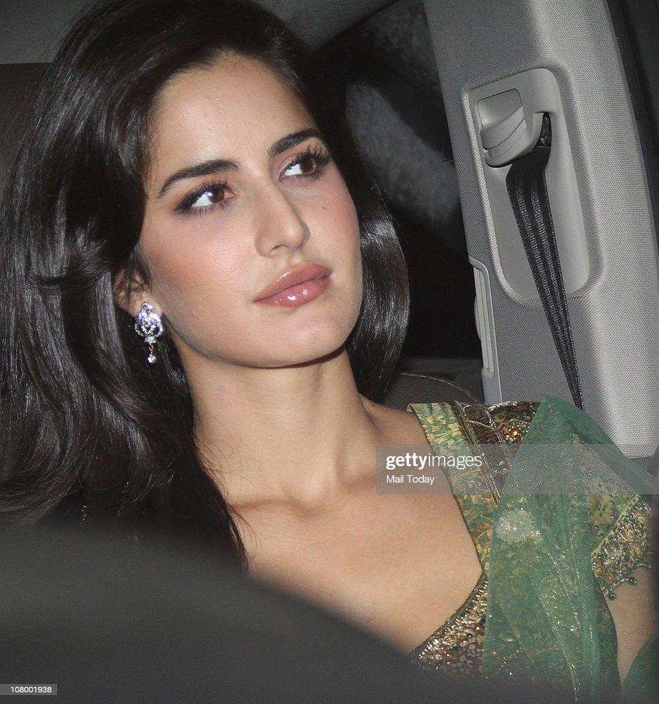 Katrina Kaif at the Mehendi and Sangeet Ceremony of Imran Khan and Avantika Malik 10Pubjan2011