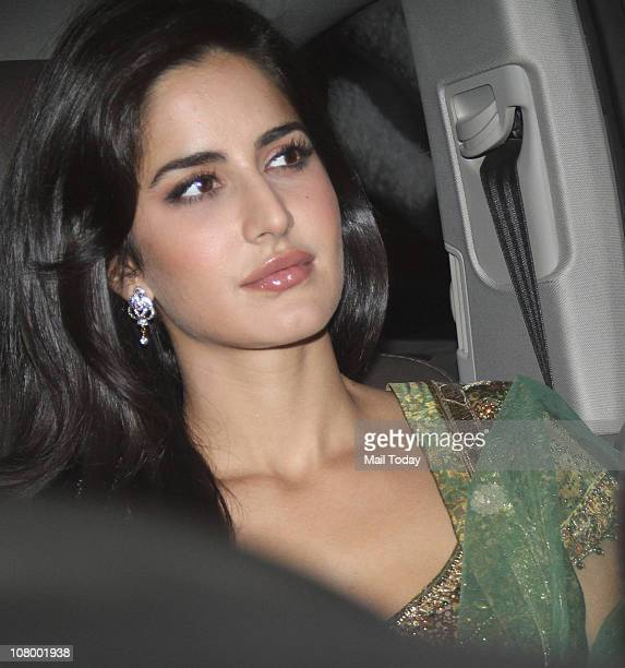Katrina Kaif at the Mehendi and Sangeet Ceremony of Imran Khan and Avantika Malik 10Pubjan2011