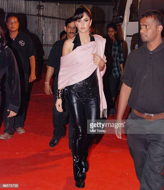 Katrina Kaif at the Mirchi Music Awards in Mumbai on February 10 2010