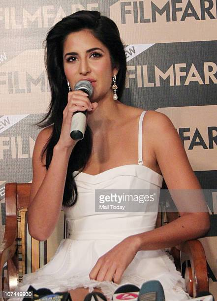 Katrina Kaif at the unveiling of all new Filmfare issue at Enigma in Mumbai