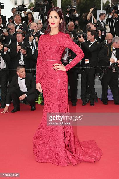 Katrina Kaif attends Premiere of 'Mad Max Fury Road' during the 68th annual Cannes Film Festival on May 14 2015 in Cannes France