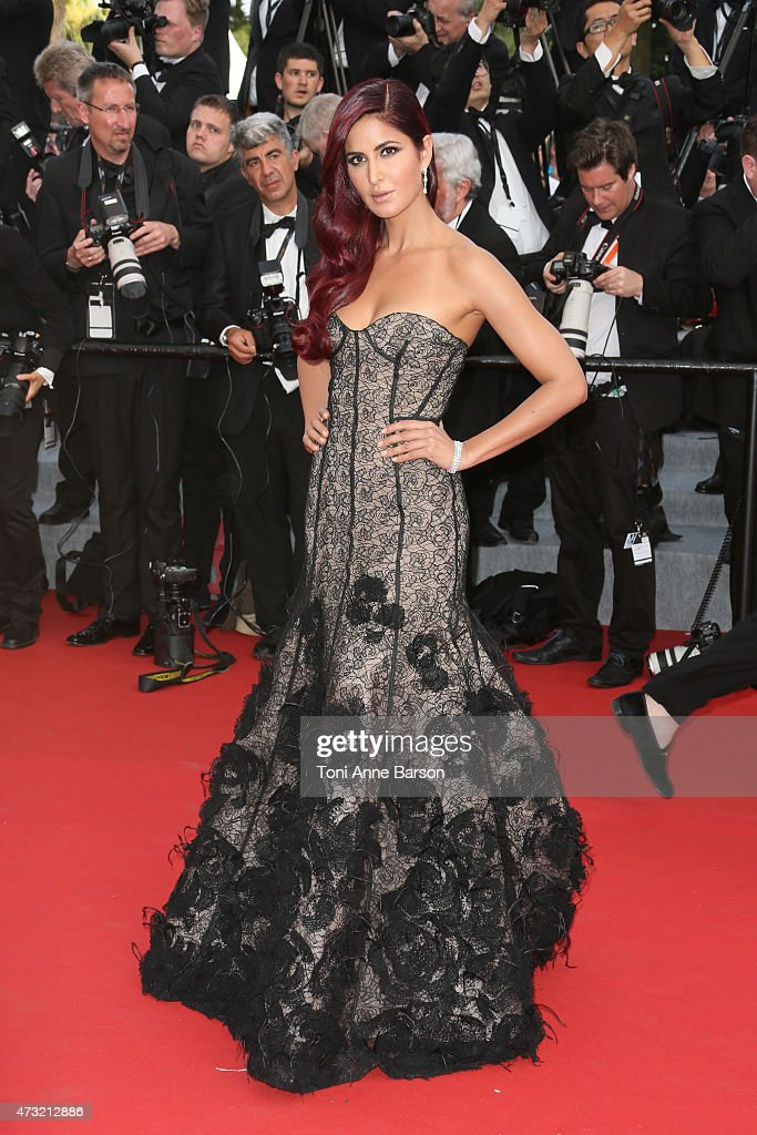 Katrina Kaif attends the opening ceremony and 'La Tete Haute' premiere during the 68th annual Cannes Film Festival on May 13 2015 in Cannes France