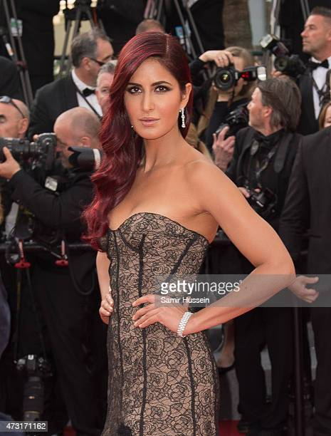 Katrina Kaif attends the opening ceremony and premiere of 'La Tete Haute during the 68th annual Cannes Film Festival on May 13 2015 in Cannes France