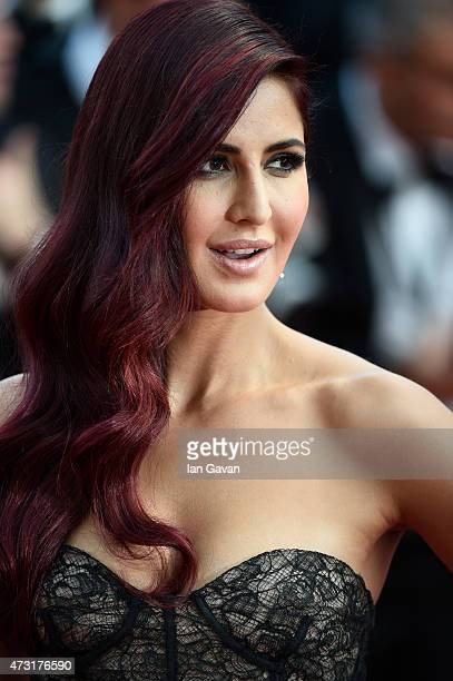 Katrina Kaif attends the opening ceremony and premiere of 'La Tete Haute' during the 68th annual Cannes Film Festival on May 13 2015 in Cannes France