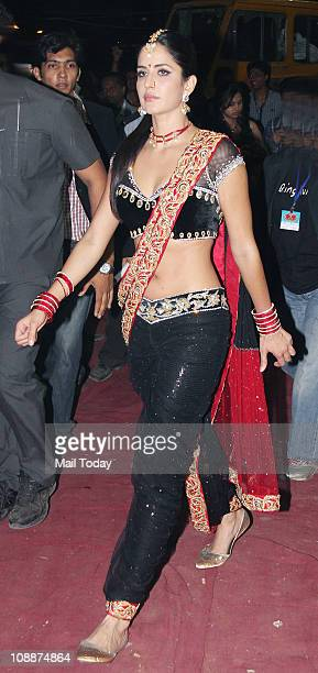 Katrina Kaif during the Stardust Awards function in Mumbai on Sunday evening