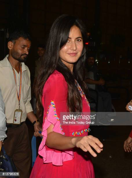 Katrina Kaif leaves for New York to attend IIFA 2017 from Mumbai