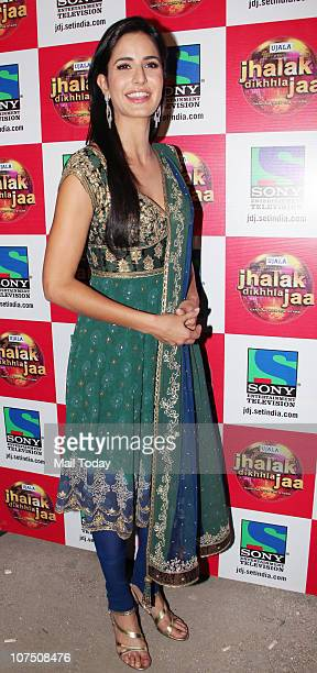 Katrina Kaif on the sets of Dance Reality Show Jhalak Dikhla Ja season 4 in Mumbai